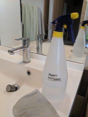 La recette n°5 du verre recettes : le nettoyant multi-usages