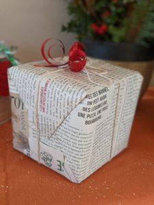 Emballage cadeaux de noel