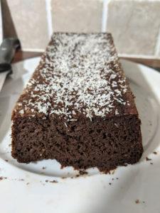 recette de moelleux au chocolat à la courgette-sans beurre et sans gluten